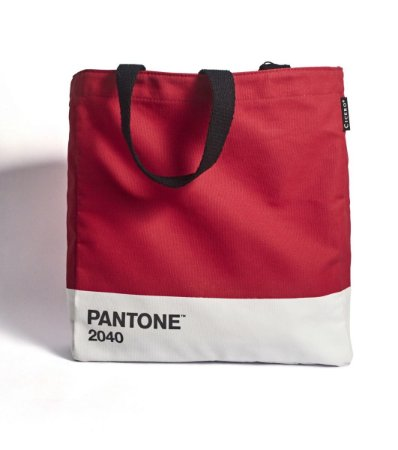 Tote bag Cicero + Pantone Vinho