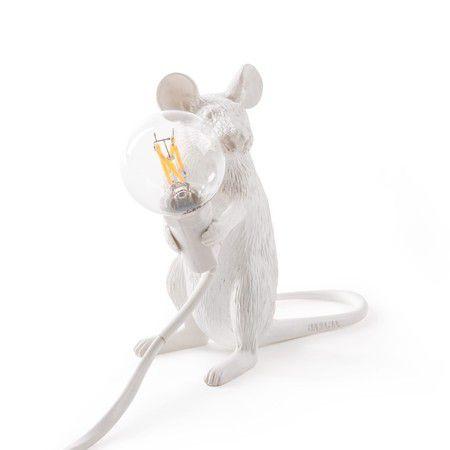 Luminária de Mesa Rato Sentado