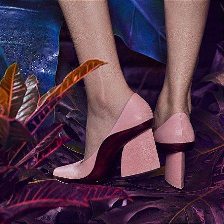 Sapato Scarpin Rosa Choix