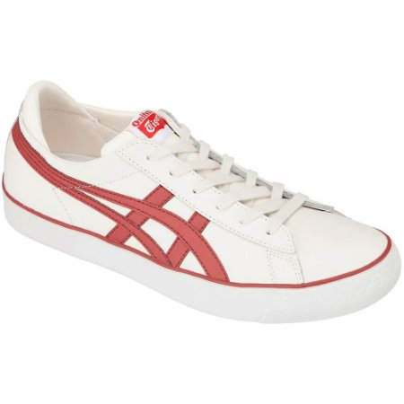 TÊNIS FABRE BL-S 2.0 CREAM/BURNT RED ONITSUKA TIGER