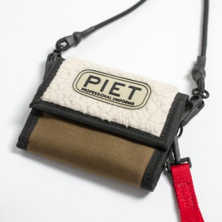 CARTEIRA E.E.U. FLEECE WALLET KHAKI PIET