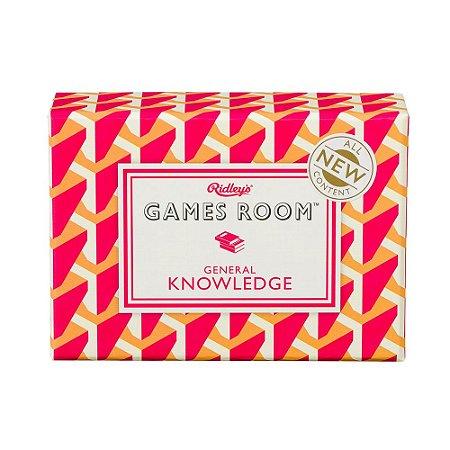 GAMES ROOM - GENERAL KNOWLEDGE