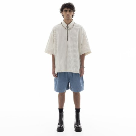 CAMISA POLO JOÃO OFF-WHITE