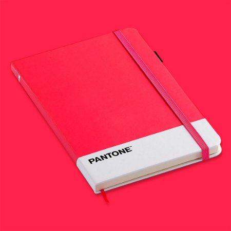 Caderneta Pantone Rosa