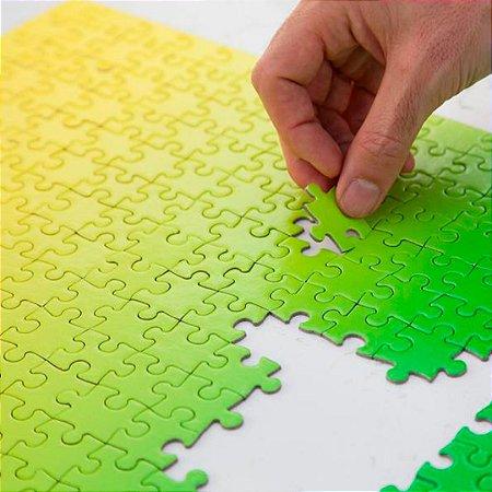 Gradient Puzzle - 500 peças (Green/Yellow)