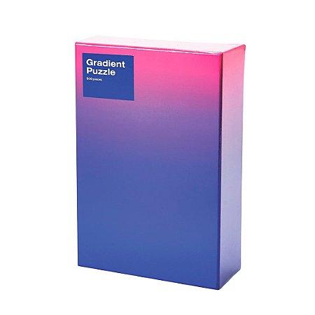 Gradient Puzzle - 500 peças (Pink/Blue)