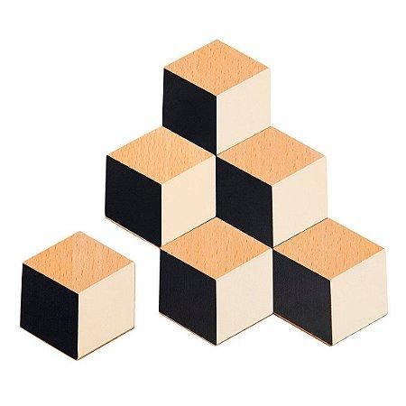 Table tiles (Black/Nude)