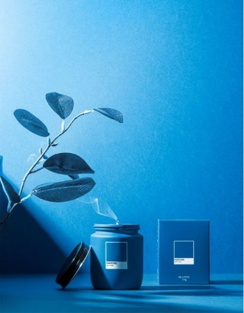 Vela Pote Blue Lotus Pantone
