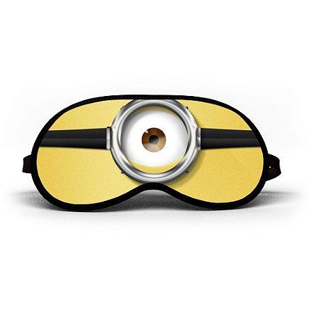 Máscara de Dormir Personalizada Minion (Mod.2)