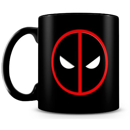 Caneca Personalizada Deadpool (100% Preta)