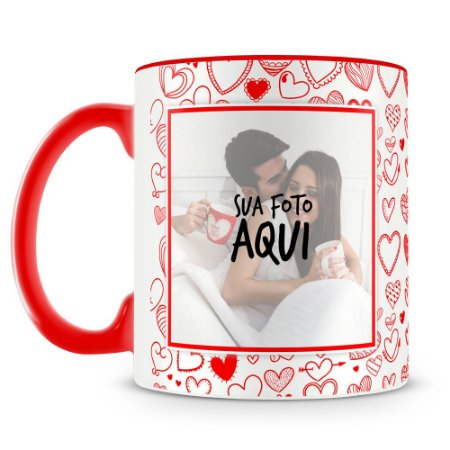Caneca Personalizada Namorados Mod.3 (2 Fotos)