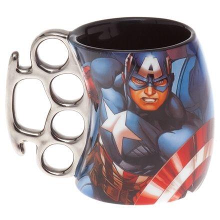 Caneca Soco Inglês Capitão América