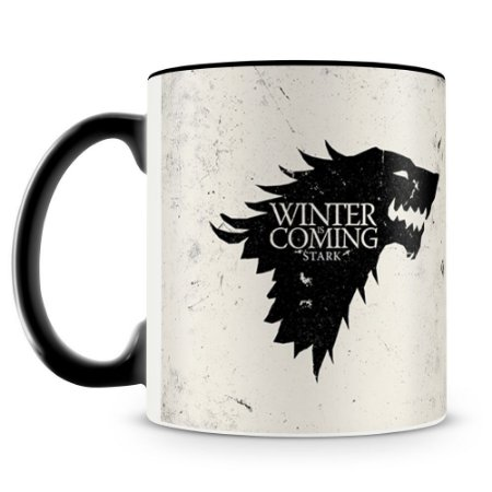 Caneca Personalizada Game of Thrones Casa Stark