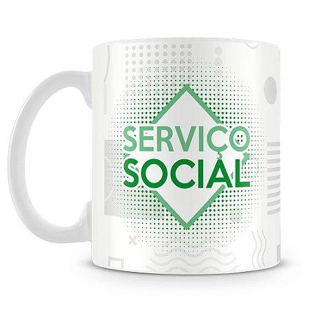 Caneca Personalizada Serviço Social