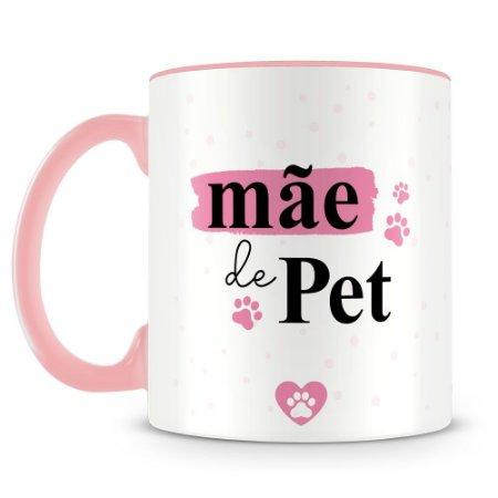 Caneca Personalizada Mãe de Pet