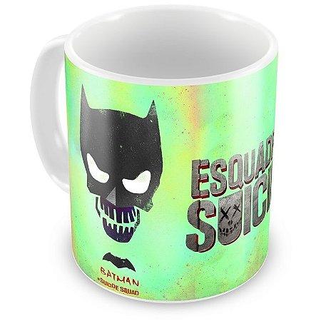 Caneca Personalizada Porcelana Batman Esquadrão Suicida
