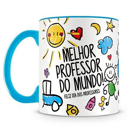Caneca Personalizada Melhor Professor do Mundo