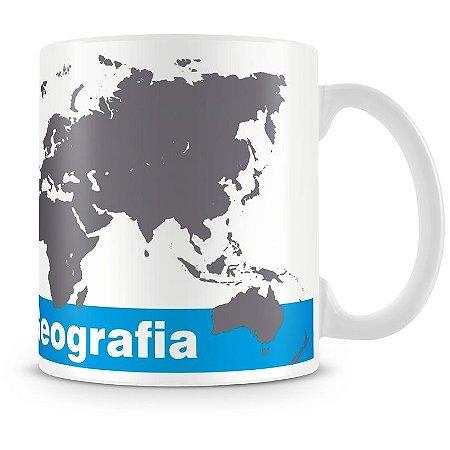 Caneca Personalizada Profissão Geografia