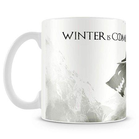 Caneca Personalizada Game Of Thrones Winter (Mod.1)