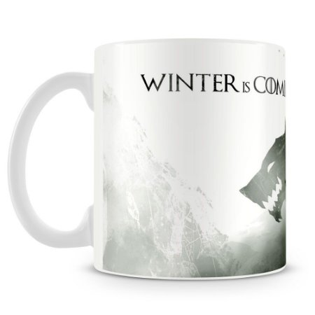 Caneca Personalizada Game Of Thrones Winter (Mod.2)