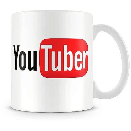Caneca Personalizada Porcelana Profissão YouTuber