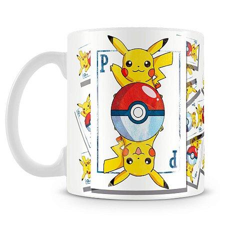 Caneca Personalizada Pikachu