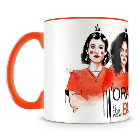 Caneca Personalizada Orange is the New Black - Laranja (Mod.1)