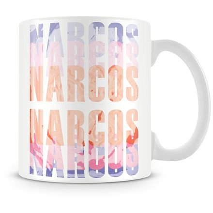 Caneca Personalizada Porcelana Narcos
