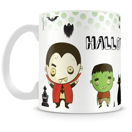 Caneca Personalizada Halloween Dia das Bruxas (Mod.2)