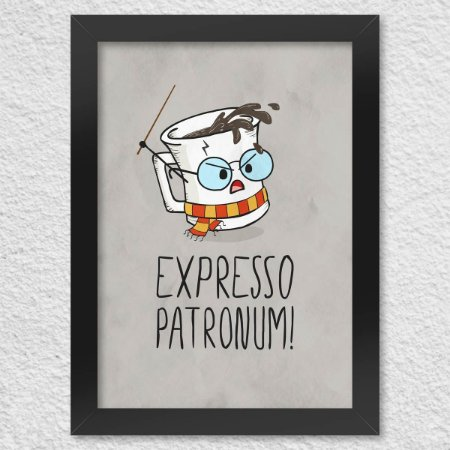 Poster Harry Potter Expresso Patronum