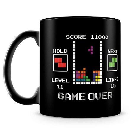 Caneca Personalizada Tetris (100% Preta)