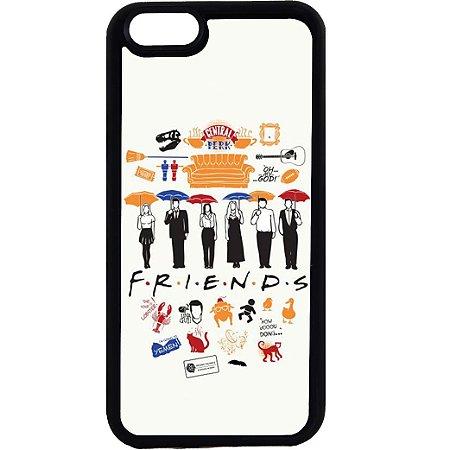 Capinha para Celular iPhone 6 Friends Guarda-chuvas