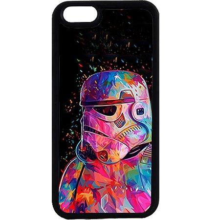 Capinha para Celular iPhone 6 Stormtrooper Colors