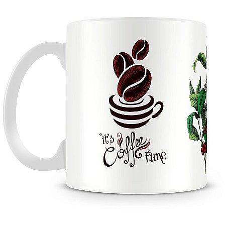 Caneca Personalizada Hora do Café