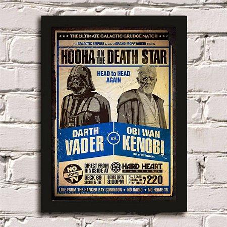 Poster Darth Vader vs Obi Wan Kenobi