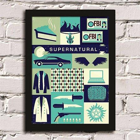 Poster Supernatural (Mod.2)