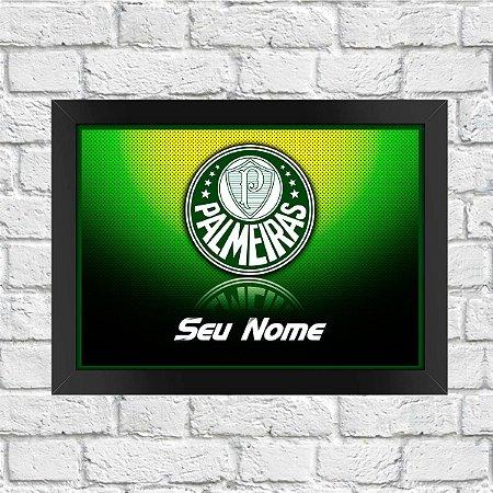 Poster Time Palmeiras (Com Nome)