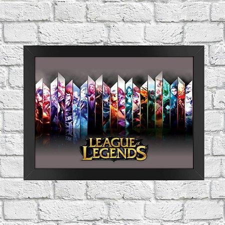 Poster League of Legends (Mod.3)