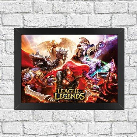 Poster League of Legends (Mod.4)