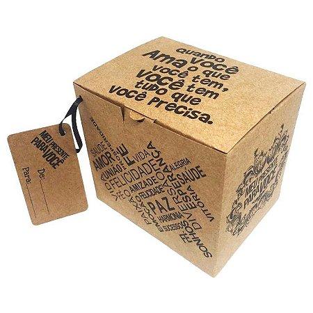 Caixinha de Presente para Caneca (Quando você Ama o que Tem)