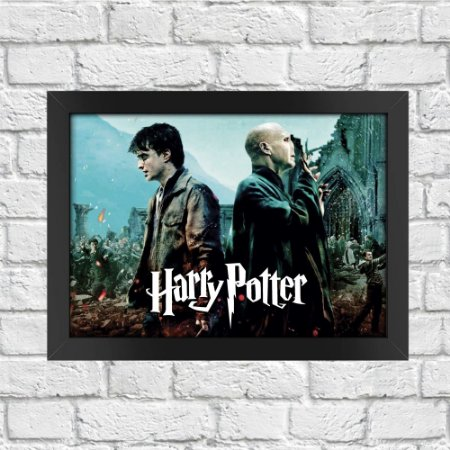 Poster Harry Potter A Grande Batalha