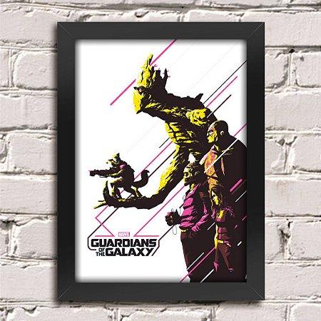 Poster Guardiões da Galáxia (Mod.9)