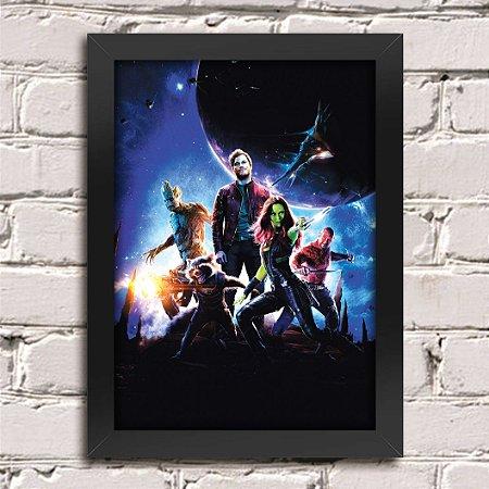 Poster Guardiões da Galáxia (Mod.21)