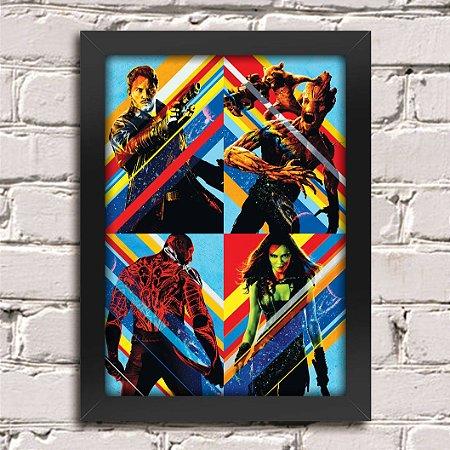 Poster Guardiões da Galáxia (Mod.23)
