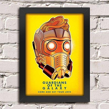 Poster Guardiões da Galáxia (Mod.25)