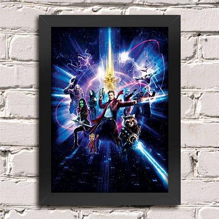 Poster Guardiões da Galáxia (Mod.27)