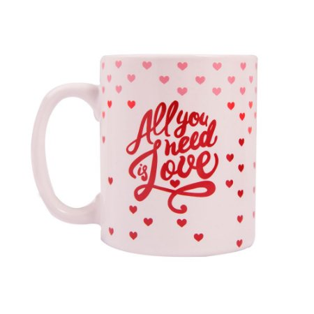 Caneca de Porcelana All You Need is Love