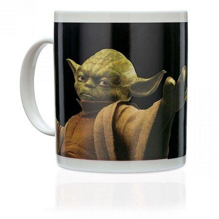 Caneca Mágica Termossensível Yoda Star Wars
