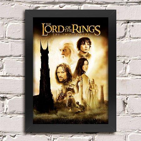 Poster Senhor dos Anéis As Duas Torres