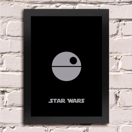 Poster Estrela da Morte Star Wars